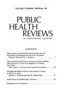 Public Health Reviews