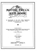 The Motor Truck Red Book and Directory Book