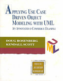 Applying Use Case Driven Object Modeling with UML