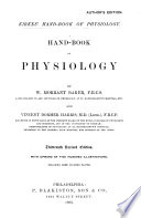 Hand book of Physiology Book