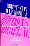 Pdf Body/Text in Julia Kristeva
