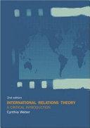 International Relations Theory ebook