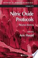 Nitric Oxide Protocols Book