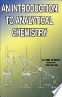 An Introduction to Analytical Chemistry Book