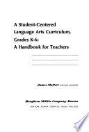 A student-centered language arts curriculum, grades K-6