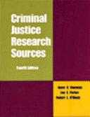 Criminal Justice Research Sources