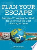 Plan Your Escape Book PDF