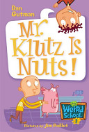 Mr. Klutz Is Nuts! banner backdrop