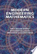 Modern Engineering Mathematics Book