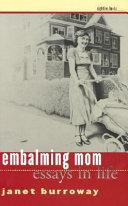 Embalming Mom Pdf