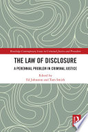 The Law of Disclosure