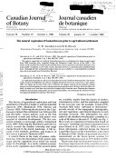 Canadian Journal Of Botany Book PDF
