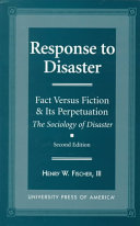 Pdf Response to Disaster