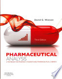 Pharmaceutical Analysis,A Textbook for Pharmacy Students and Pharmaceutical Chemists,3