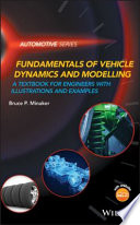 Fundamentals of Vehicle Dynamics and Modelling Book