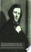 The Letters of Robert Browning and Elizabeth Barrett Barrett Book