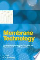 Membrane Technology Book PDF