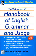 The Mh Hb Of English Grammar And Usage