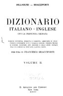 Millhouse   Bracciforti s English and Italian Pronouncing and Explanatory Dictionary