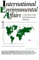 International Environmental Affairs