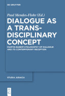 Dialogue as a Trans-disciplinary Concept