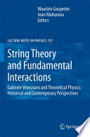 String Theory and Fundamental Interactions