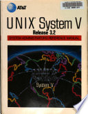 UNIX System V Release 3.2. System Administrator's Reference Manual