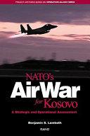 Pdf NATO's Air War for Kosovo Telecharger