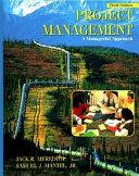 Project Management Book PDF