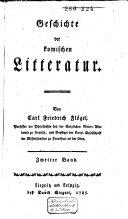 Geschichte der komischen Litteratur