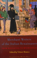 Merchant Writers of the Italian Renaissance