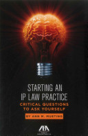 Starting an IP Law Practice
