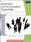 Business Communication Essentials Book