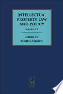 Intellectual Property Law And Policy Book