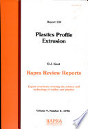 Plastics Profile Extrusion