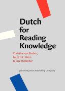 Dutch for Reading Knowledge Pdf/ePub eBook
