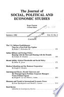 The Journal of Social, Political and Economic Studies