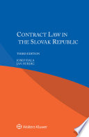 Contract Law in Slovak Republic