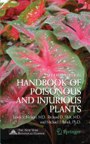 Handbook of Poisonous and Injurious Plants Pdf/ePub eBook