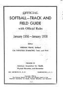 Official Softball track and Field Guide with Official Rules
