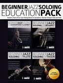 Beginner Jazz Soloing Education Pack