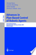 Advances in Plan Based Control of Robotic Agents