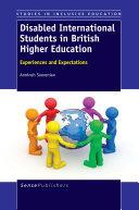 Disabled International Students in British Higher Education [Pdf/ePub] eBook