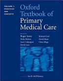 Oxford Textbook Of Primary Medical Care Principles And Concepts