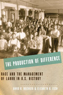 The Production of Difference Book