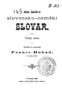 Slovensko-nemški slovar