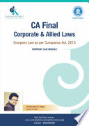 CA FINAL COMPANY LAW
