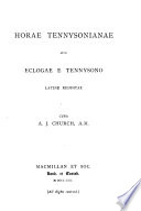 Horae Tennysonianae