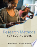Empowerment Series: Research Methods for Social Work