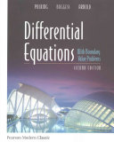 Differential Equations with Boundary Value Problems  Classic Version